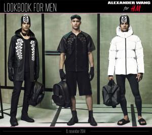 Pánská kolekce Alexander Wang pro H&M: lookbook pro muže.
