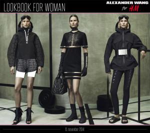 Dámská kolekce Alexander Wang pro H&M: lookbook pro ženy.