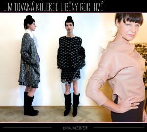 Modely z nové limitované kolekce Liběny Rochové pro sezónu podzim/zima 2014/2015.
