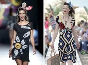 Letní šaty Desigual z kolekce jaro/léto 2015.