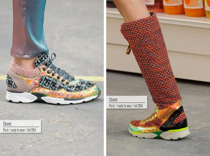 Trendy obuv podzim/zima 2014/2015: Chanel.