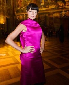 Liběna Rochová na galavečeru akce Designblok v březnu 2013.