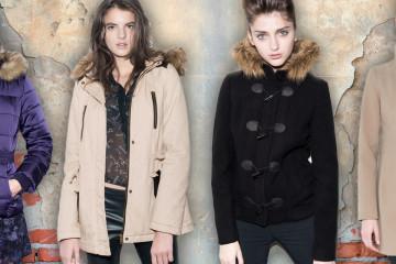 Mladistvá móda Jennyfer nabízí péřové bundy, kabáty i oblíbenou parky. Nechybí teplé vesty, či motobundy a sáčka vhodné v zimě pod bundu.