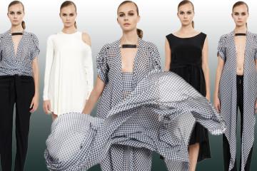 Česká značka Leeda, za kterou stojí módní designérka Lucie Kutálková, představuje svoji kolekci pro sezónu podzim/zima 2014/2015.
