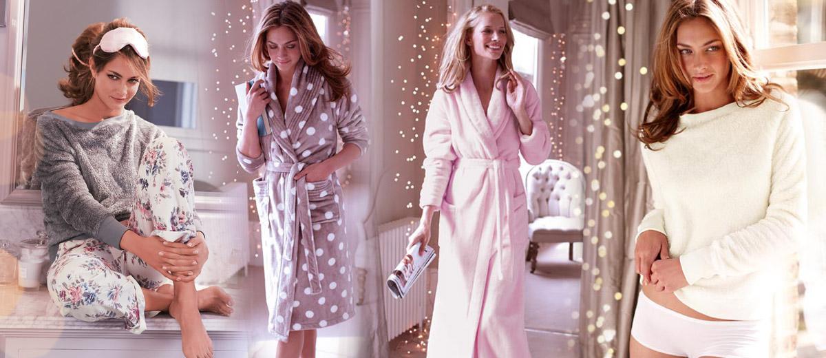 Jedním z atraktivních sortimentů anglické módní značky Marks&Spencer jsou pyžama a župany. Tentokrát se podíváme na dámskou kolekci.