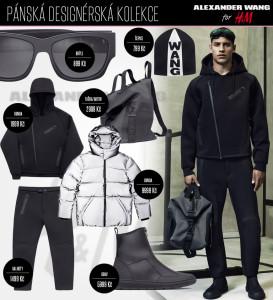 Pánská kolekce Alexander Wang pro H&M se začala prodávat!
