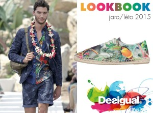 Pro značku, pro kterou jsou charakteristické výrazné vzory a barvy, není nic netypické, že i kolekce pánská móda Desigual bude na jaře a v létě 2014/2015 doslova posetá vzory a zářící barvami.