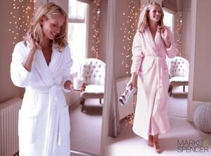 Noční prádlo z kolekce Marks&Spencer podzim/zima 2014/2015.