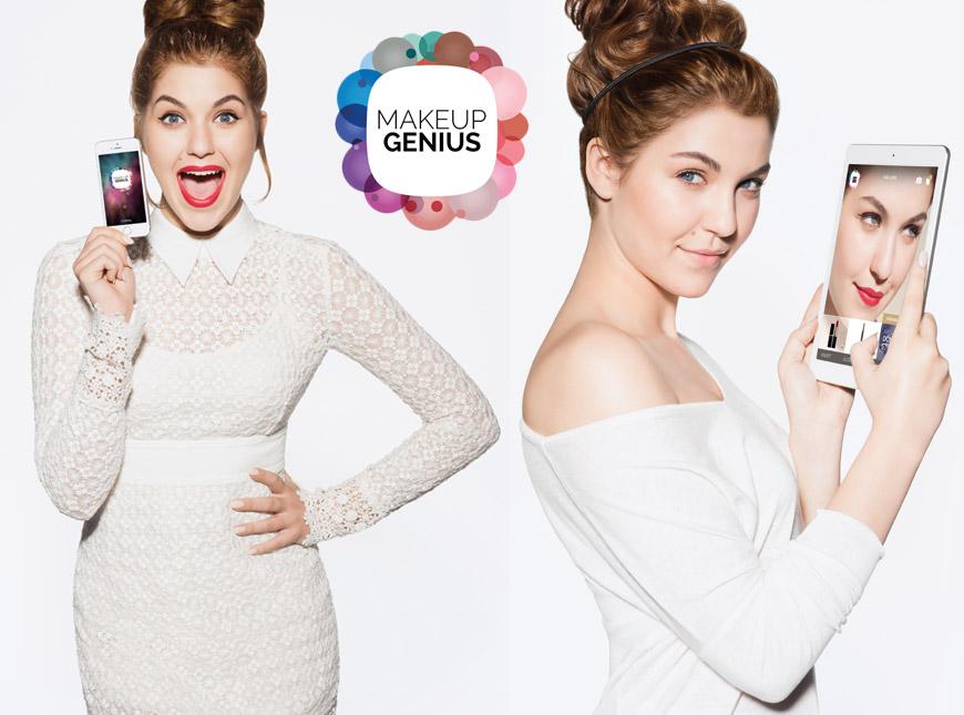 Tváří aplikace Make-up Genius od L´Oréal Paris se pro Čechy a Slovensko stala zpěvačka Celeste Buckingham.