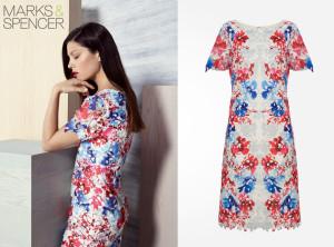 Letní šaty z katalogu Marks&Spencer pro jaro a léto 2014/2015.