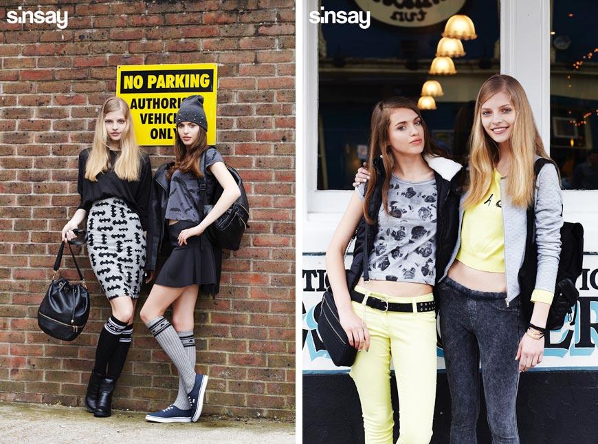 SINSAY katalog přináší levnou a mladistvou módu.