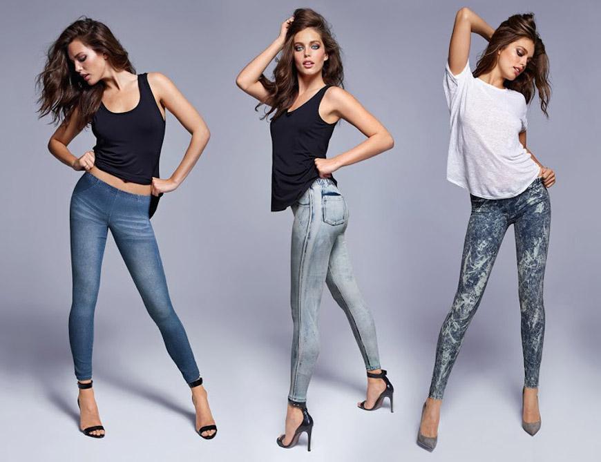 Leginy Calzedonia vypadají jako pravé džíny – je to přitom pouze super módní fake!