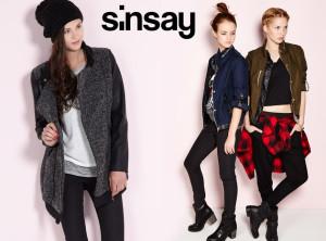 Bundy a kabáty Sinsay chtějí levně obléknout mladé dívky a ženy.