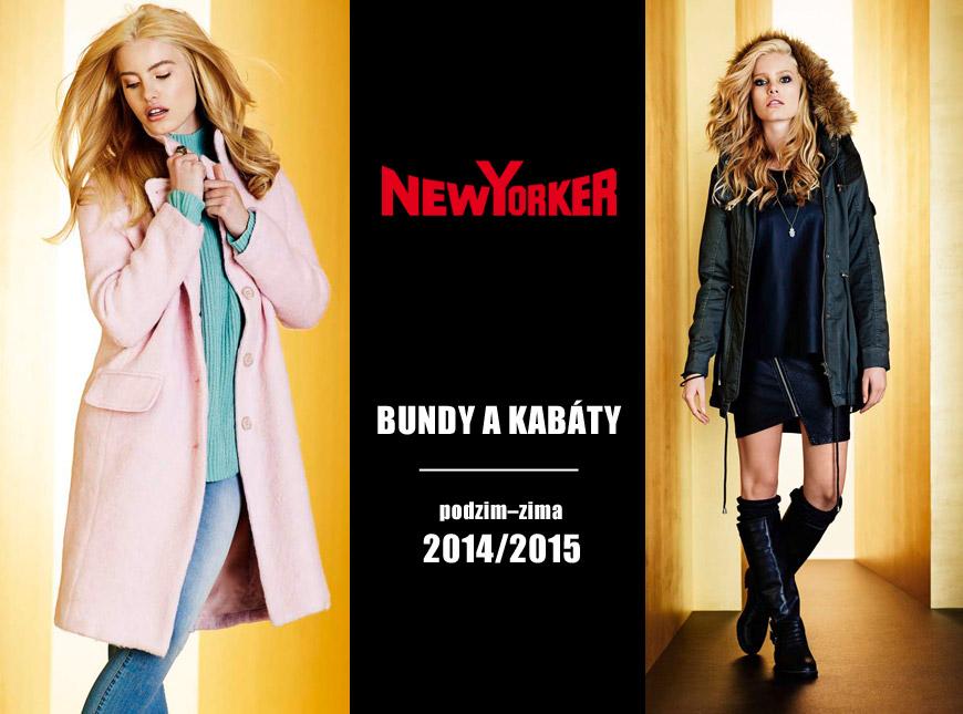 Bundy a kabáty New Yorker – kolekce podzim/zima 2014/2015.