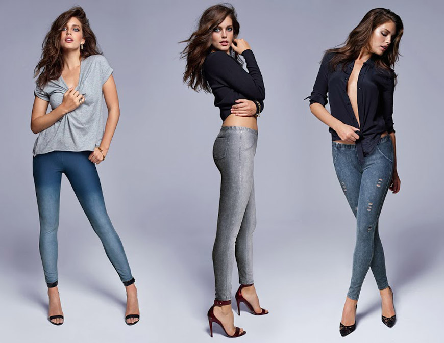 Leginy Calzedonia vypadají jako pravé džíny – je to přitom pouze super  módní fake! 1713d5beb4