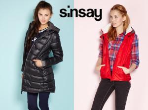 Levné bundy a kabáty Sinsay rozhodně nepokulhávají ani v módních trendech.