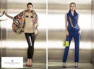 Těhotenská móda Pietro Brunelli z kolekce podzim/zima 2014/2015 přináší módní barvy, skvělé střihy a italský šmrnc.