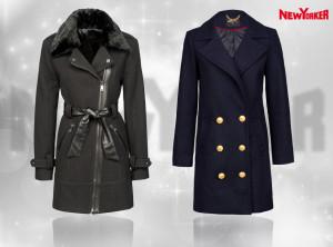 Kabáty New Yorker pro sezónu podzim/zima 2014/2015.