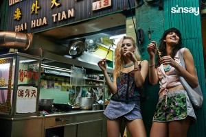 Vychutnejte si mladou módu SINSAY v exotické atmosféře Bangkoku.