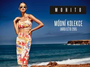 Jako paleta malíře, který se barvami a štětcem rozhodl zachytit jarní atmosféru – tak vypadají dvoudílné šaty z nové kolekce MOHITO 2015 pro jaro a léto.