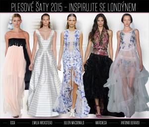 Inspirujte se plesovými šaty z Londýna. Největší líheň návrhářů nejspíš nejen v Evropě ukazuje, že londýnská móda není jen o anglické tradici. Plesové šaty 2015 z London Fashion Week rozhodně nebudou chybět na červených kobercích prestižních akcí a inspirovat se jimi můžete i při výběru šatů na ples.