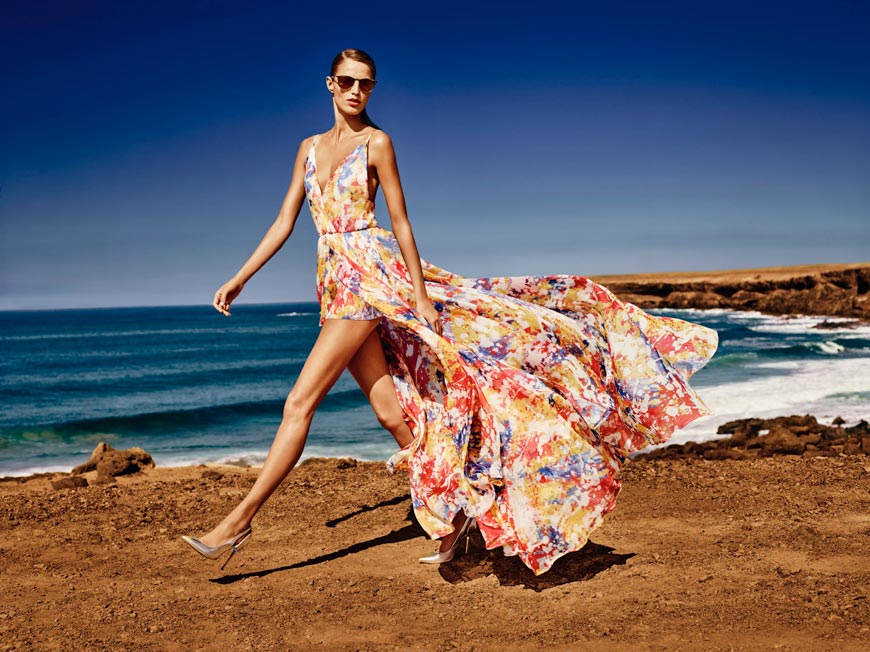 Nádherné barvy a svůdné vrstvení – šaty z nové kolekce MOHITO 2015 pro jaro a léto.