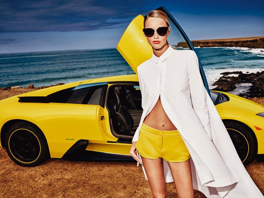Propracované linie s minimalistickým střihem dávají kolekci MOHITO 2015 pro jaro a léto punc luxusu.