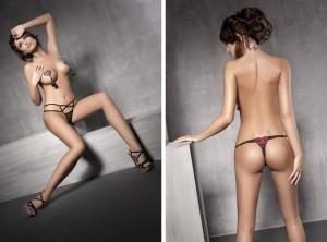 Erotické tanga patří mezi nejsvůdnější kalhotky vůbec.