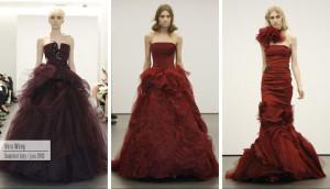 Barva Marsala nezklame ani na večerních šatech pro ten nejluxusnější ples v opeře.