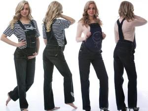 Mezi nejoblíbenější těhotenské kalhoty patří jednoznačně těhotenské lacláče.