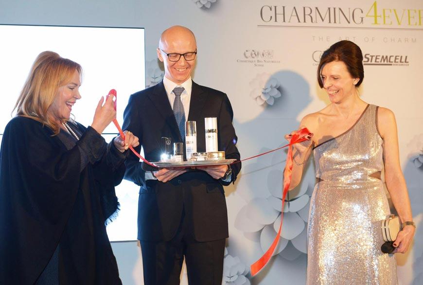 Křest nové švýcarské kosmetiky Charming4ever