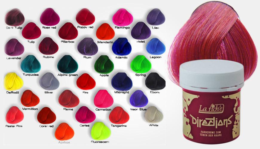 Barvy Directions umožňují uživatelům vytvářet vlastní neomezené odstíny a kombinace, které budou vyhovovat jejich individuálním touhám.