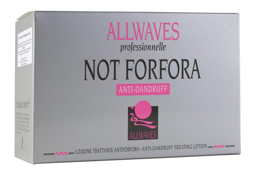 Allwaves Anti-Dandruff Antiforfora Ampule je vlasový zábal proti lupům. Ty aktivně odstraňuje a současně regeneruje vlasy.