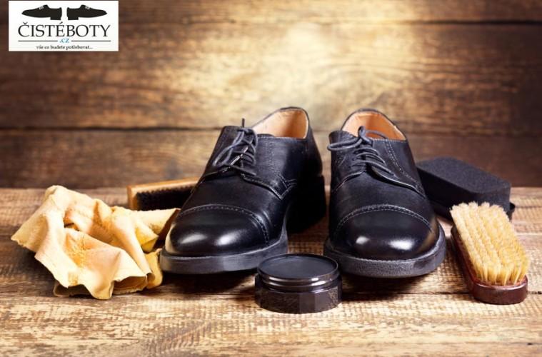 Krém na boty a kartáč na boty jsou základní výbavou v péči o kvalitní kožené boty.