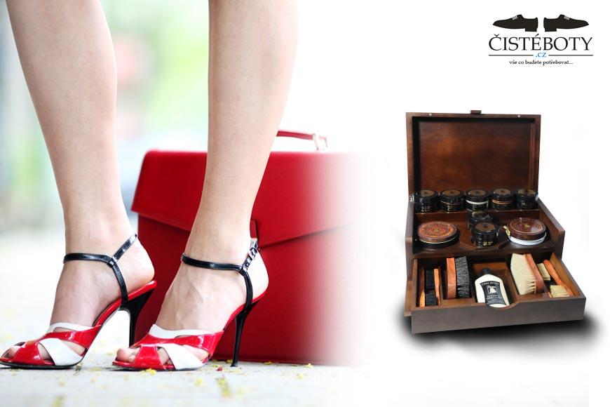 Pořiďte si kompletní sadu s kvalitními výrobky pro péči o vaši koženou obuv, tašky, kabelky a další kožené doplňky.