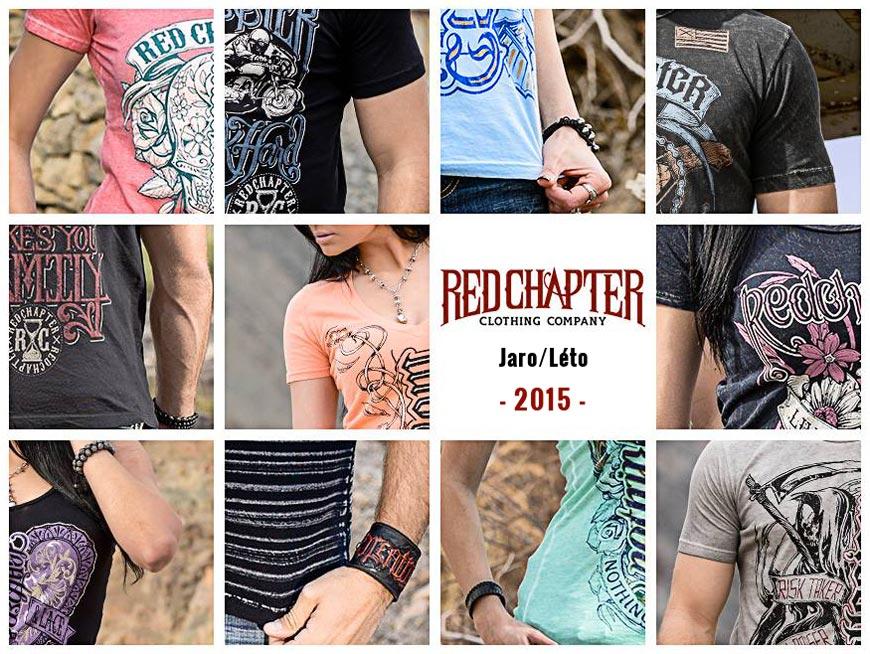 Nová jarní a letní kolekce 2015 značky Red Chapter Clothing.