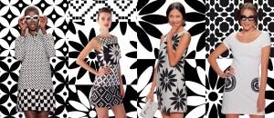 V sezóně jaro a léto 2014 se Desigual vrací do roku 1960 a oblíbené barevné kombinaci této doby – černobílé.