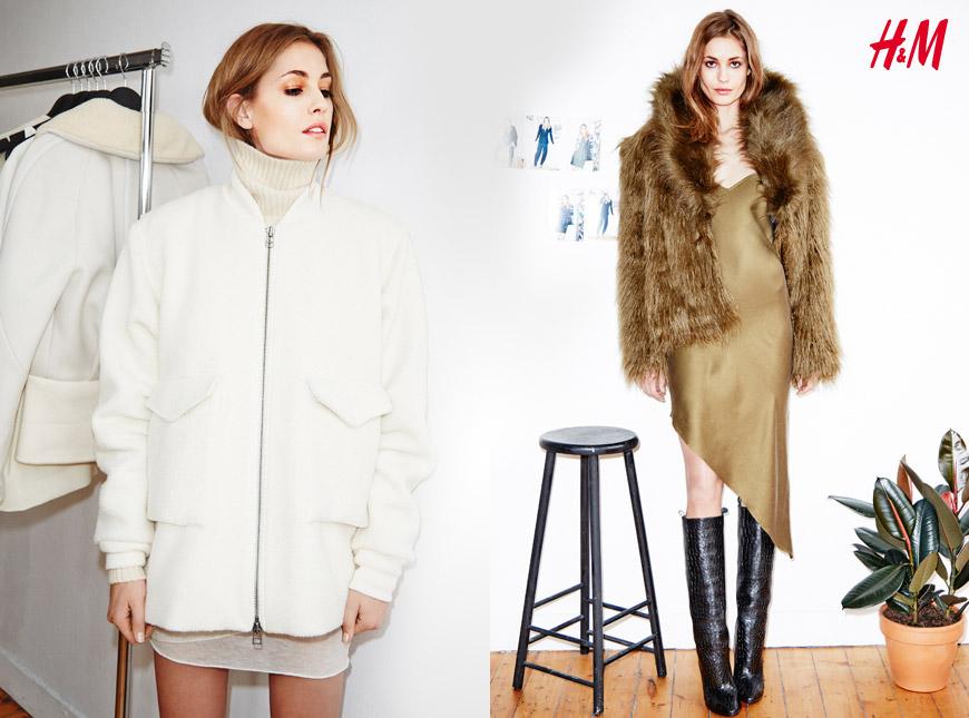 Oblečení z kolekce H&M Studio A/W 2014.
