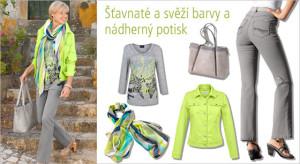 Jarní móda KLiNGEL nabízí šťavnaté barvy, do kterých se budete mít chuť zakousnout.