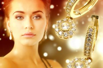 Náušnice jsou ideální dárek pro ženy i malé parádnice.