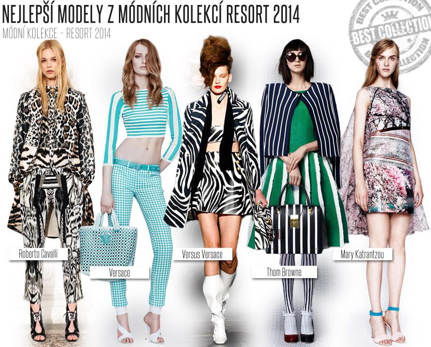 Podívejte se na nejlepší módní kousky oblečení z módních kolekcí fashion designérů – Resort 2014.