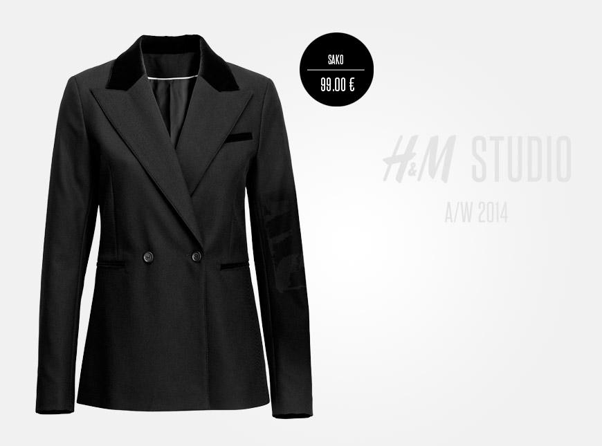 Dámské sako z kolekce H&M Studio má dokonalé zpracování a nadčasový design.