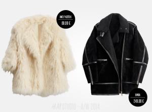 Bundy H&M Studio najdete jako umělé kožíšky, sportovní bundy, bomber bundy i flaušové krátké bundičky.