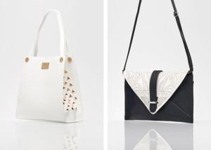 Kabelky MOHITO z letní kolekce 2014 – najdete zde kabelky na rameno, psaníčka i kabelky s módními fashion vzory, jakými jsou černobílé proužky nebo kohoutí stopa.