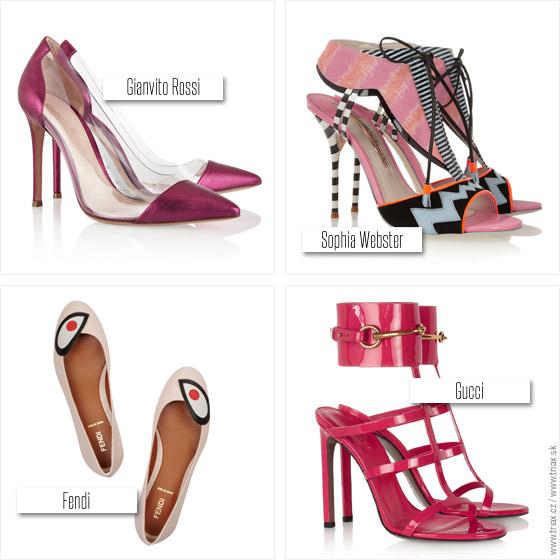 Boty do růžových oufitů
