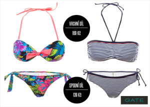 Plavky Gate nabízí pestrý sortiment pro letošní léto.