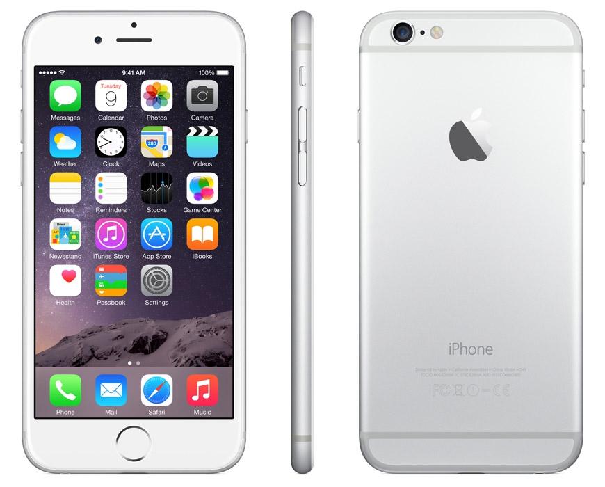 iPhone 6 je stylový velkodisplejový mobil i do dámské kabelky.
