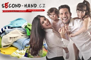 Také milujete nakupování v secondhandech? Second-hand.cz obleče celou rodinu! V nabídce má až 35 000 položek.