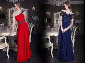 Plesové šaty z nejnovější módní kolekce v Paříži žijící české módní návrhářky Zoryana Stekhnovych.