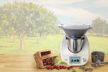 Thermomix je multifunkční kuchyňský robot, který umí současně vařit. Vyrobit si domácí džemy je s ním hračka bez spousty umazaného nádoby a připálených hrnců!